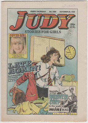 JUDY Girls Comic 28th October 1989 Number 1555 32 Pages - Vintage