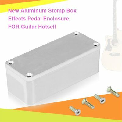 LOT 5/10 New Aluminum Stomp Box Effects Pedal Enclosure FOR Guitar Hotsell GS
