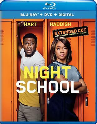 Night School Blu-ray Disc (No DVD No Digital) Never Watched Ships Free