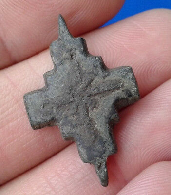 Ancient Bronze Cross-encolpions. 9th to the mid-13th century.