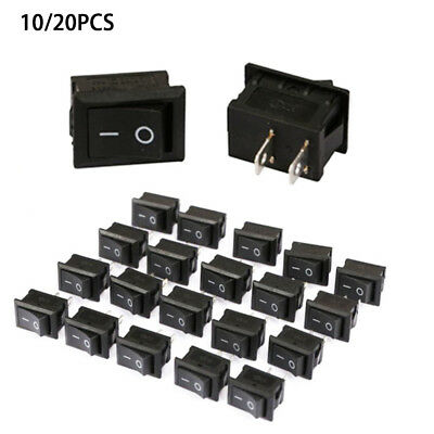 5pcs AC 250V//15A 3 Pins On-off Type SPST Boat Rocker Switch for Car M5E4