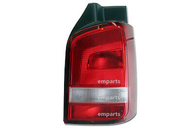 VW Transporter T5 T6 Rear Back Tail Light Lens Lamp 2010 Onwards Right O/S Red
