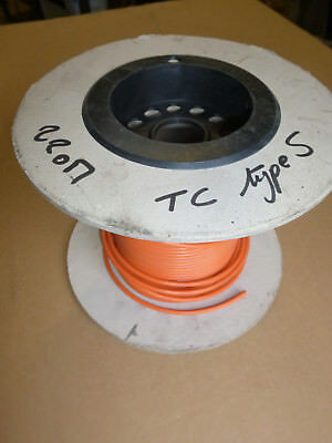 cable for thermocouple type S, PVC 105°C, diameter 5mm, 20 meter lenght