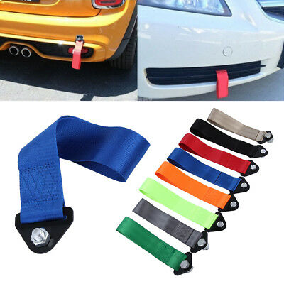 Pull  Emergency Racing Tow Strap Hauling cable Towing Rope High Strength