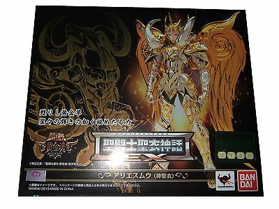 saint seiya, zodiaco, ARIES EX SOUL OF GOLD EU NUEVO, SOG BANDAI NEW