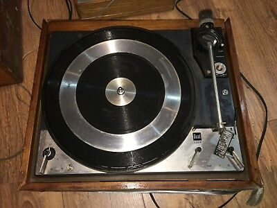 Vintage Dual 1219 Turntable For Parts