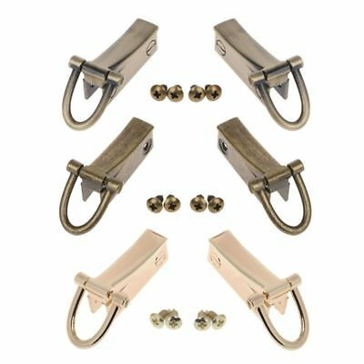 2 Side Metal Clip Hardware Clasp Accessory for DIY Purse Making Handbag Bags New
