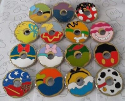 Mickey Mouse and Friends Donut Mystery Pack Disney Pin Make a Set Lot