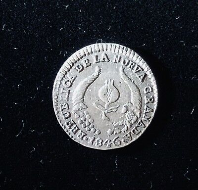 Colombia 1/2 real Popayan 1846/5