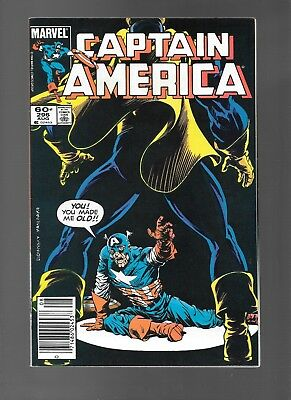 Captain America #296 (Aug, 1984) Guest-Starring Nomad Falcon APP FN/VF 7.0