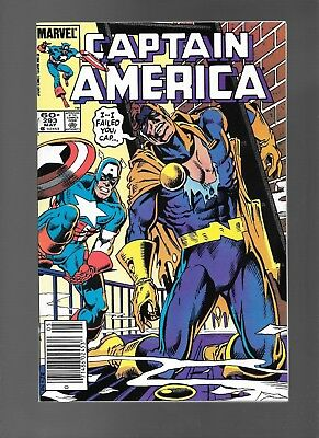 Captain America #293 (May, 1984) Guest-Starring Nomad Mother Superior APP VF 8.0