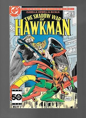 Shadow War of Hawkman #3 (Jul, 1985) DC Comics Mini-Series Aquaman APP FN/VF 7.0