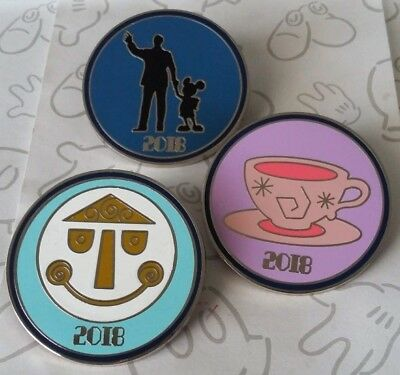 Disney Parks Icons Dated 2018 Booster Year Disney Pin Make a Set Lot