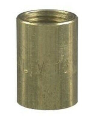 Clipsal CONDUIT SCREWED BRASS COUPLING Electrolytic Zinc Plated- 16mm Or 20mm