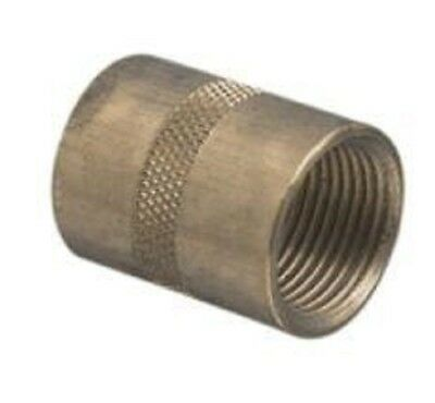 Clipsal CONDUIT SCREWED BRASS COUPLING Electrolytic Zinc Plated- 25mm Or 32mm