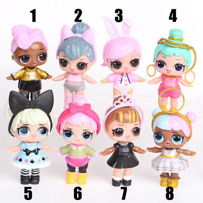 """1X LOL SURPRISE DOLLS AND Fittings For Children Playhouses 7.5cm/3"""""""