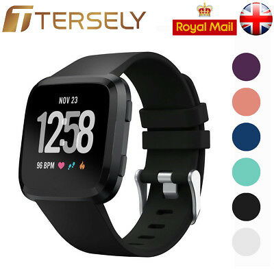 Replacement Wrist Straps Wristbands Silicone Watch Sport Bands for Fitbit Versa