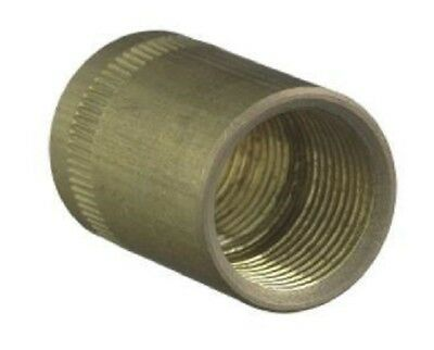"Clipsal CONDUIT BRASS COUPLING CLI1242AC20 20mm 3/4"" BSP Electrolytic Zinc Plate"