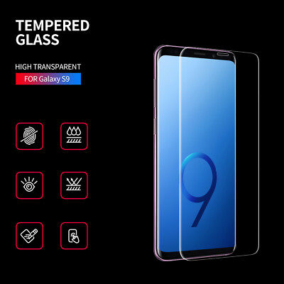 Tempered Glass Screen Protector For Samsung Galaxy S9 - 100% NEW DD
