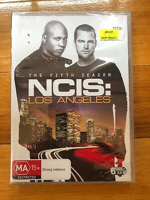 NCIS - Los Angeles : Season 5 (DVD, 2014, 6-Disc Set) Brand New Sealed