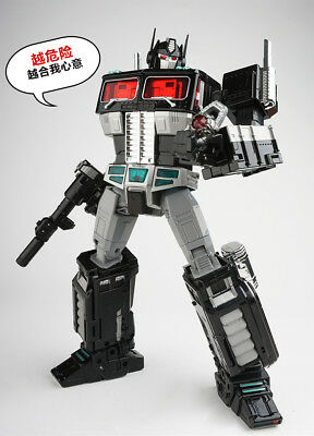 WEIJIANG MPP10B Optimus Prime Dark Metal Version Scourge Action Figure