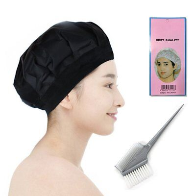 Locisne DIY Thermal Hair Heat Cap Microwavable Micro Hair Conditioning Hat Spa