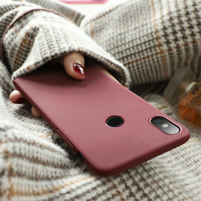 For Xiaomi Mi A1 A2 Lite 8 SE Note 5 Pro 6A 6 S2 Slim Hard Back Matte Case Cover