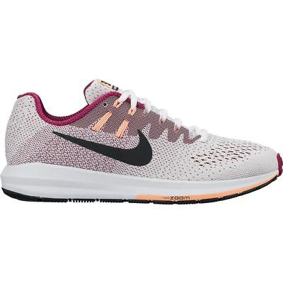 newest c2a17 7a37f Femmes Nike Air Zoom Structure 20 White Basket Course 849577 100