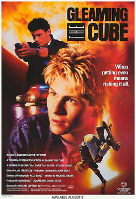 "GLEAMING THE CUBE Movie Art Silk poster 8x12""24x36""24x43"""