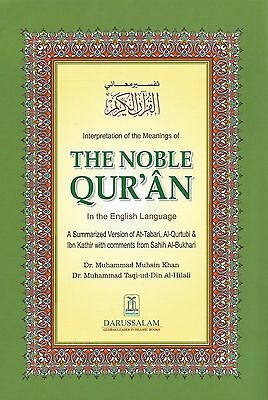 Interpretation Of The Meanings Of The Noble Quran English Arabic