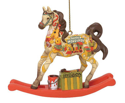 NEW Trail of Painted Ponies Ornament SANTA'S WORKSHOP present Limited 5,500