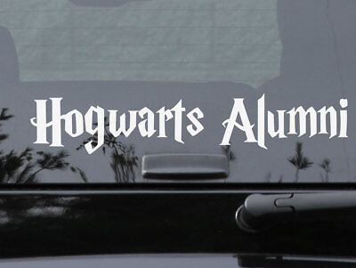Hogwarts Alumni Car Laptop Decal Harry Potter Any size