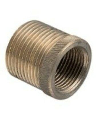 "Clipsal CONDUIT BRASS ADAPTOR 3/4"" BSP Male *Australian Brand- 20mm Or 25mm"