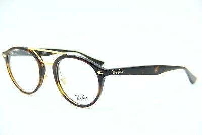 New Ray-Ban Rb 5354 5674 Havana Gold Eyeglasses Authentic Frame Rx Rb5354 50 - 320889a132a1