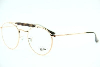 fb35346a434 New Ray-Ban Rb 3747 2943 Rose Gold Eyeglasses Authentic Frame Rx Rb3747 47-