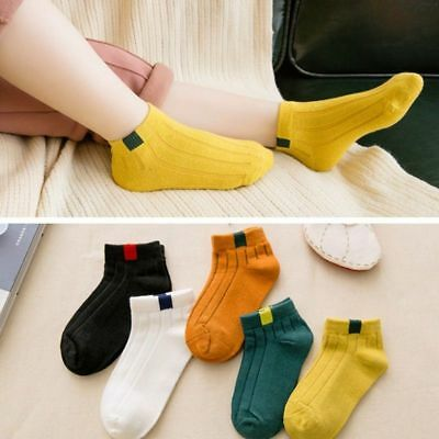 Socks Baby Kids 5Pairs Cotton Children For Girls Boys Wear Fashion Casual Infant