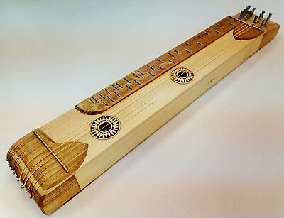 Practicing Zither (citera) for collectors or practitioners