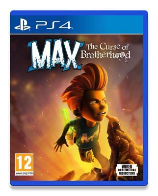 Max The Curse of The Brotherhood PS4 Neuf sous blister