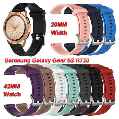 Wristband Strap Silicone For Samsung Galaxy Watch 42mm Garmin vivoactive3