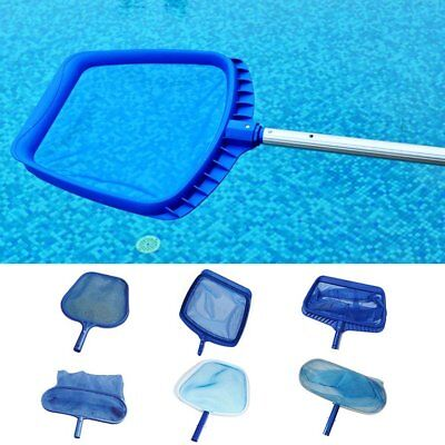 Swimming Pool Skimmer Net Fine Mesh Extra Large Deep-Bag Leaf Catcher Cleaner #J