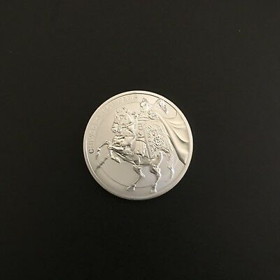 2017 South Korea Chiwoo Cheonwang Series 1/2 oz .999 Silver Coin