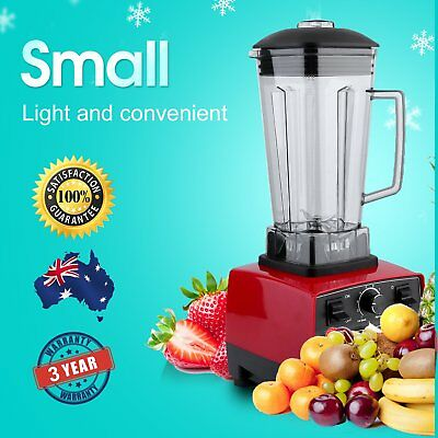 2L Commercial Blender Mixer Juicer Food Processor Smoothie Ice Crush Gifts R1R