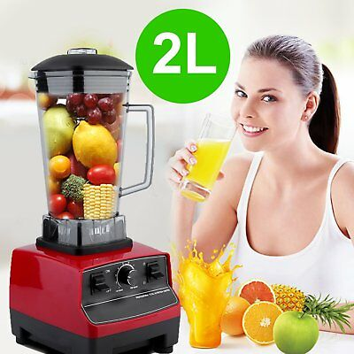2800W Commercial Blender 2L Healthy Food Processors Mixer Juicer Ice Crusher U4U