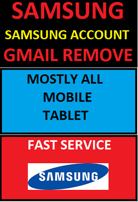Note 10 Samsung Frp Gmail Google Account & Samsung Account Remove Any Model