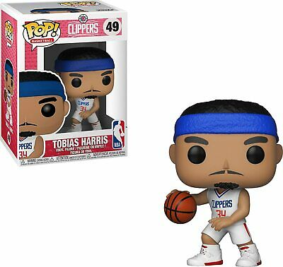 Funko Pop! Basketball: NBA - Los Angeles Clippers Tobias Harris # 49 New In Box