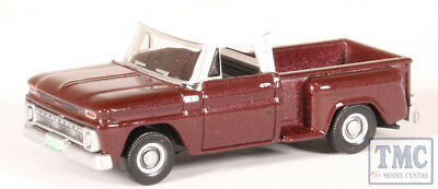 Oxford 87cp65003 CHEVROLET STEPSIDE Pick Up Rosso scuro//bianco 1:87 222244 NUOVO °