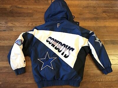 088efbab7 VINTAGE DALLAS COWBOYS Pro Player Jacket NFL Mens Medium -  64.99 ...