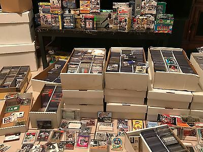 Huge Sports Card Collection - Rookies & Autographs -HOF- Grab Lots!!!