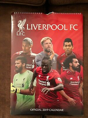 62f735702 2019 A3 LIVERPOOL Fc Official Wall Calendar Top Calender - £13.50 ...