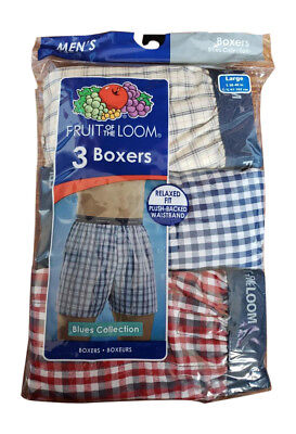 Fruit of the Loom Men's Boxer 3 or 6 or 9 Pack